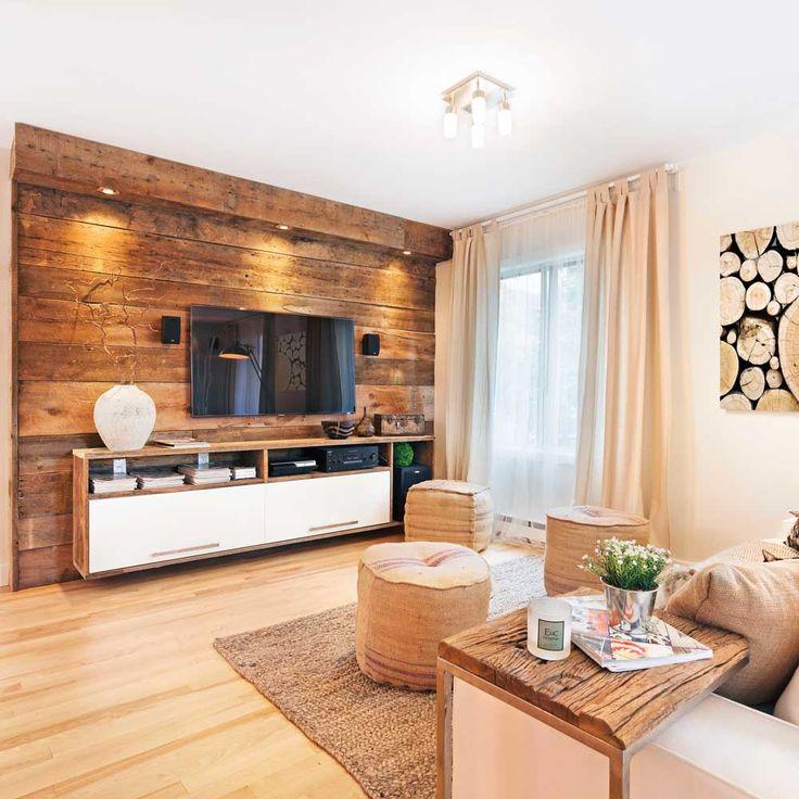 Les matériaux bruts font un retour en force dans les décors les plus tendance! Le bois de grange, la pierre naturelle, l'acier, la brique et le béton s'invitent tant sur les murs et les planchers que par le biais des meubles et des accessoires.  Et puisque la tendance est au mélange des textures et des matières, on a tout le loisir de les mélanger! Laissez-vous inspirer par la nature et intégrez à vos décors des accents de ces matériaux convoités. – Mathieu Déragon