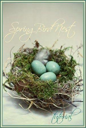Make your own nest. Easy!