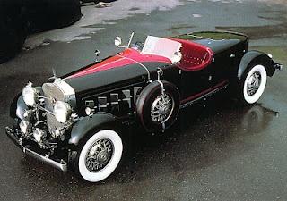 Boat tail Speedster de 1930