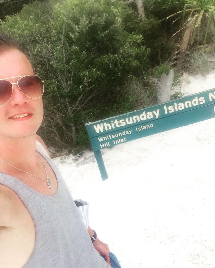Sign at Whitsunday Island