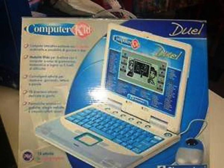 DUAL COMPUTER bambini nuovo in scatola vintage