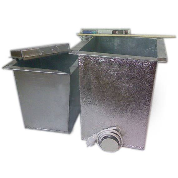 Water bath for   melt paraffin or wax per 1 bucket  https://www.etsy.com/listing/518717068/water-bath-for-melt-paraffin-or-wax-per?ref=shop_home_active_1