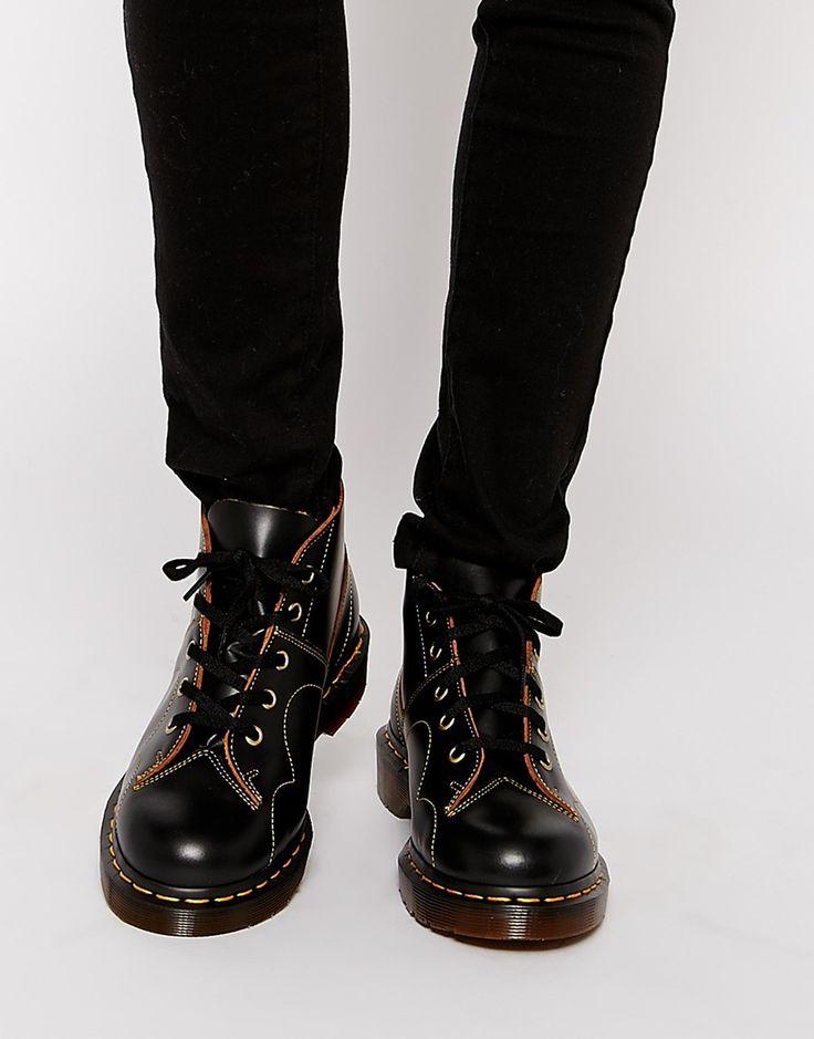 dr martens black church monkey boots compras