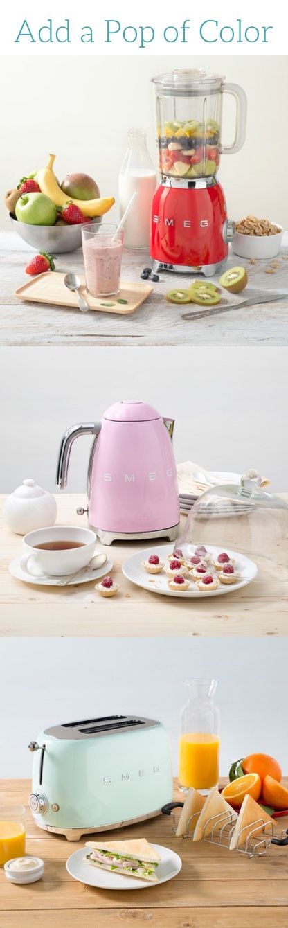 Add a pop of color to your kitchen through Zola, the wedding registry that has everything you need.