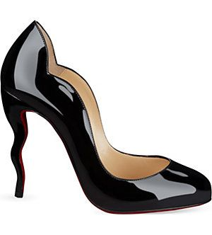CHRISTIAN LOUBOUTIN Wawy Dolly 100 patent (Black