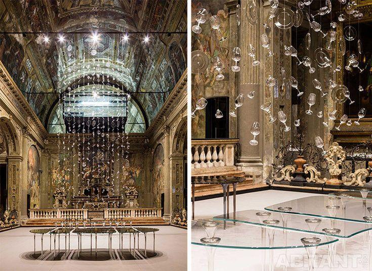 Офис в ренессансной церкви. Революционный проект Массимилиано Локателли.