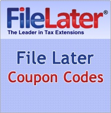 Find great savings on finance, accounting or tax services at FileLater and In just a few minutes, get a 6 month income tax extension + An authorized IRS e-file provier at FileLater.