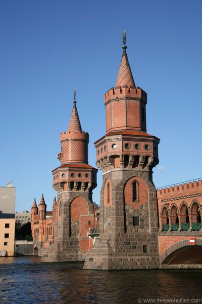 The towers of the Oberbaumbrücke