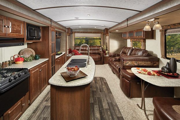 Bullet Premier Luxury Ultra Lite Travel Trailer