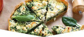 Sfogliata di spinaci e tofu