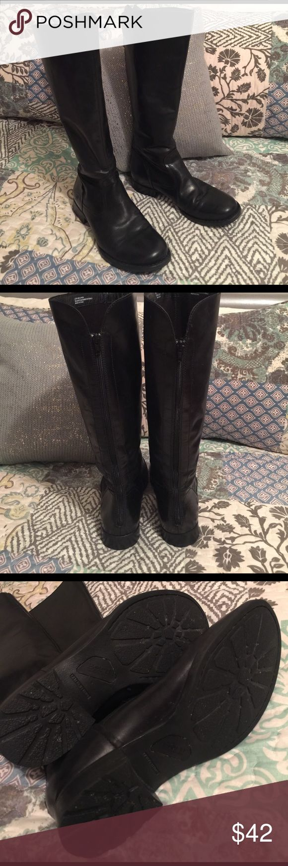 Born Riding Boots SZ 8 Super cute! Born Riding Boots in black, size 8. Very good used condition. I only recall wearing them once. Born Shoes Winter & Rain Boots