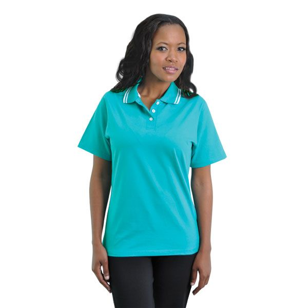 Ladies Epic Golfers BRANDS: TEE & COTTON Has side slits for comfort and ease of movement and 100% combed cotton produced from the best quality yarns for coolness and durability