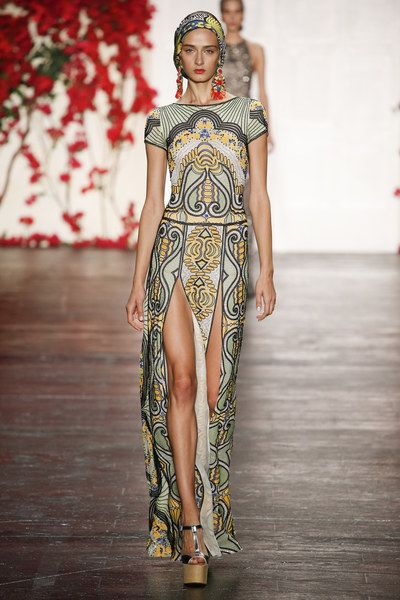Naeem Khan Spring 2016 Ready-to-Wear Collection