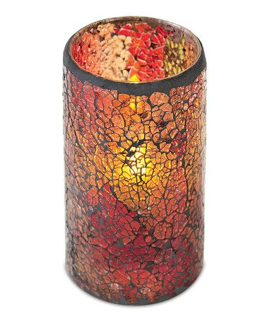 Another great find on #zulily! Large LED Mosaic Candle #zulilyfinds