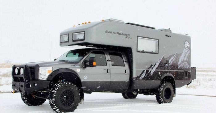 """Meet The EARTHROAMER XV-LT – Best Bug Out Vehicle Ever? — I don't know why but I have been looking into these awesome campers recently and I came across the """"EarthRoamer XV-LT"""
