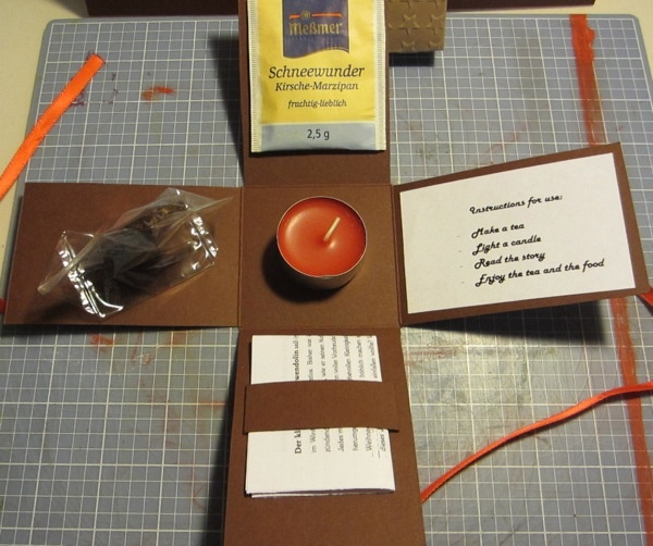 mer enn 25 bra ideer om adventskalender inhalt p. Black Bedroom Furniture Sets. Home Design Ideas