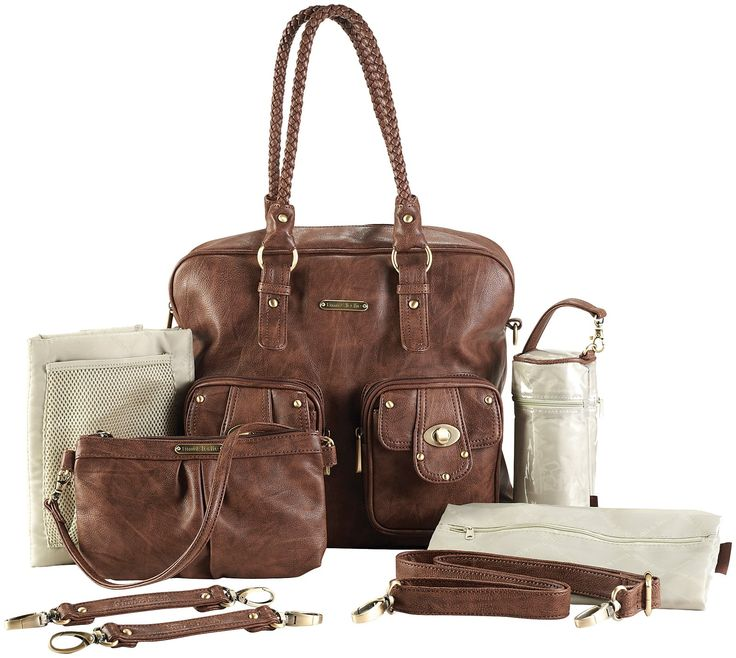 Timi & Leslie Rachel Convertible Diaper Bag - Caramel - Best Price