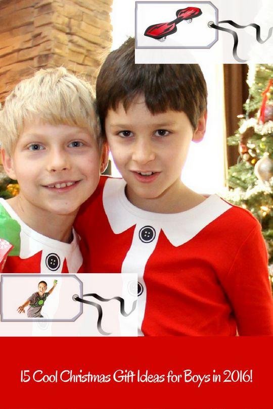 15 Christmas Present Ideas for Boys 2016. #ChristmasGiftIdeas #ChristmasGifts