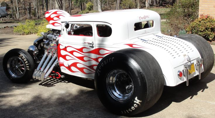 "BAD ASS HOT RAT ROD OPEN SANDERSON ""ZOOMIES"" #COUPEZILLA INSANE EXHAUST ..."