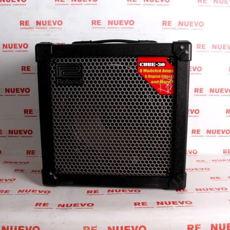Amplificador ROLAND CUBE 30 de segunda mano E289075 | Tienda online de segunda mano #ampli #segundamano