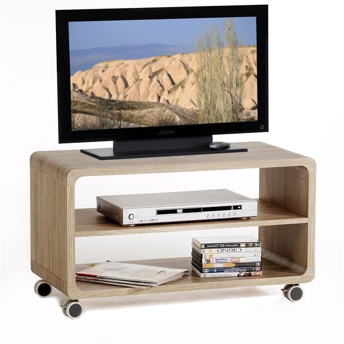 meuble tv miami decor chene sonoma