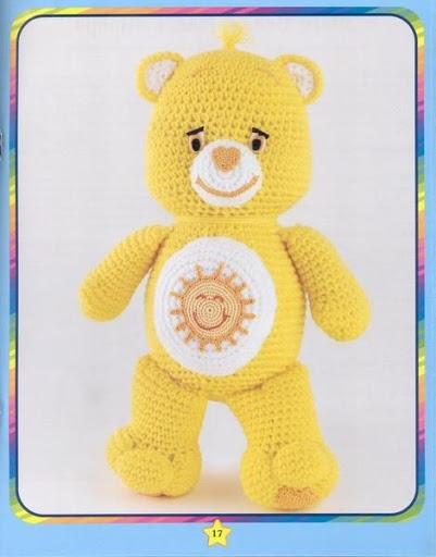 10 Best Care Bears Crochet Images On Pinterest Care Bears Crochet