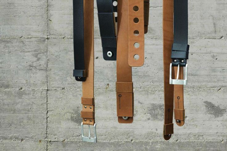 Belts, designed by Gabriel Geller