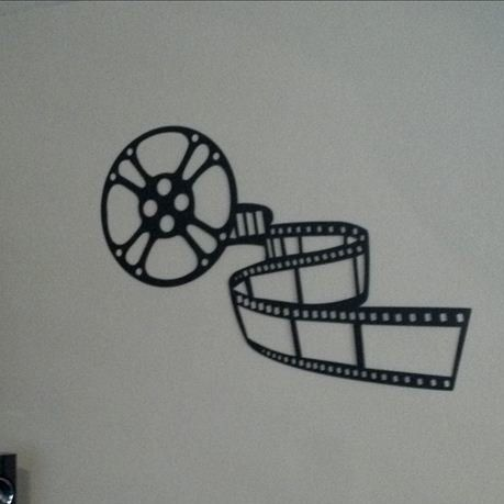 Movie Reel and Film Home Theatre Metal Wall Décor