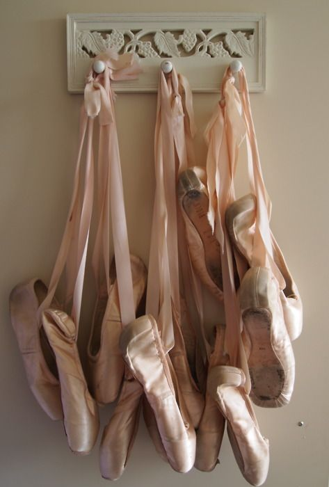 Pointe shoes remind me of all the ballet classes I took growing up. Very fond memories.