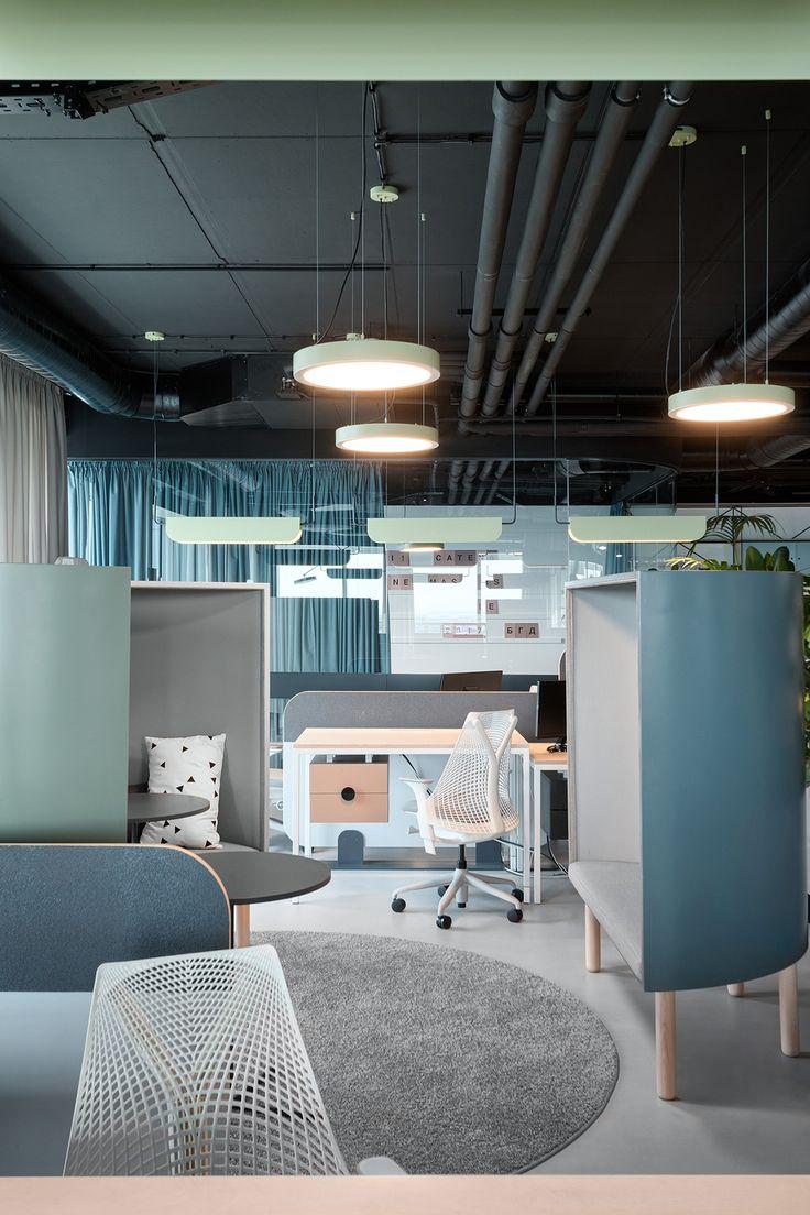 Les architectes Autori créent le bureau idéal