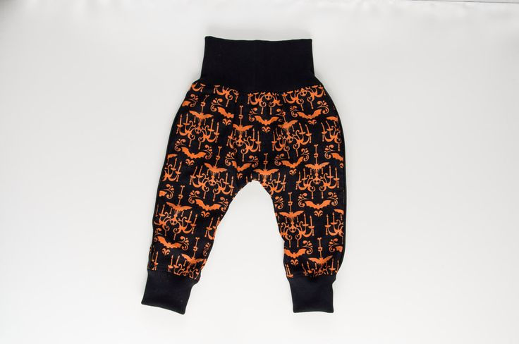 Cotton baby pants, halloween clothes for babies, baby goth by TupTupki on Etsy https://www.etsy.com/listing/470086654/cotton-baby-pants-halloween-clothes-for