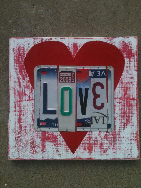 License plate love