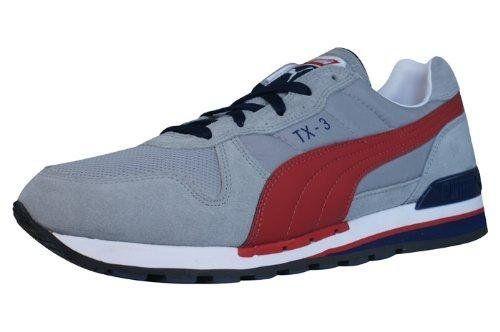 Puma Archive TX-3 Sneaker Limestone Gray / Haute R - http://on-line-kaufen.de/puma/36-eu-puma-tx-3-unisex-erwachsene-sneakers-weiss-79