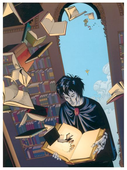 P Craig Russell Sandman {Without dreams, we would only have a non-fiction section in the library!} --- Oriona Pax