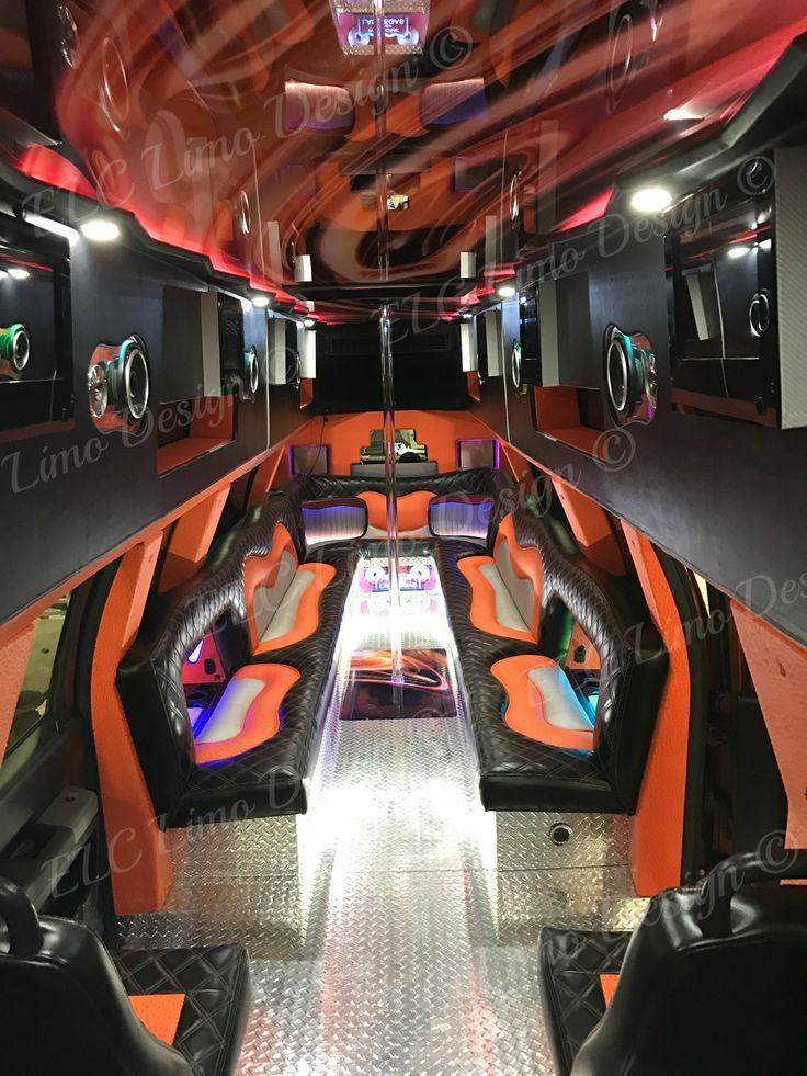 Party Bus Conversions, Las Vegas, ELC Limo Designs, Build