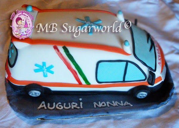 torta ambulanza