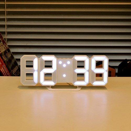 [Mooas] Mini LED Clock 무아스 미니 LED 클락 / 탁상시계 & 벽시계 // 29,900