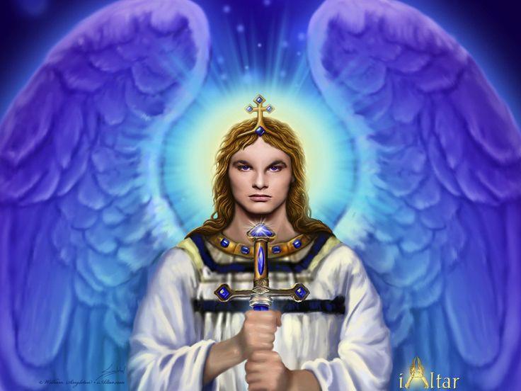 BAŞ MELEK MICHAEL (MİKAİL)               Baş Melek Mikail (Mikha'el) Tanrı'nın kendisinden yarattığı ilk varlık, ilk melektir. Tan...