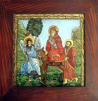 icoane pe sticlă - Icoane Pe Sticla Artizanat - Adam Curta - Pictor Iconograf