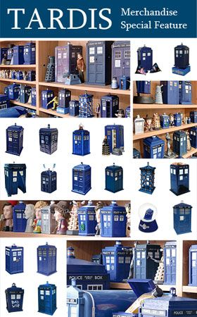 Doctor Who Site Special Feature – All Things Tardis – Merchandise Guide - The Doctor Who Site
