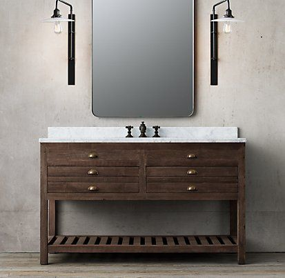 17 best images about rustic ski vanities on pinterest