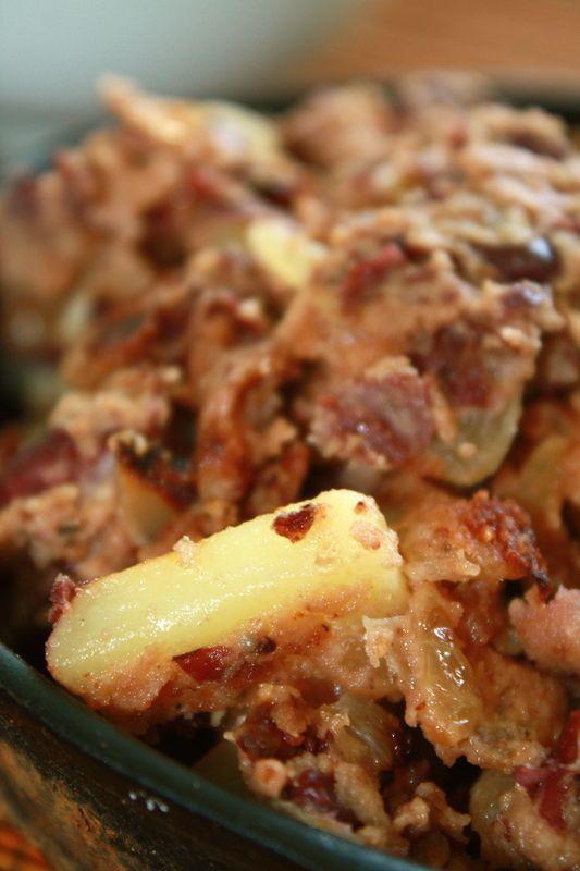Corned Bean Hash- Irish comfort food, the #vegan way!