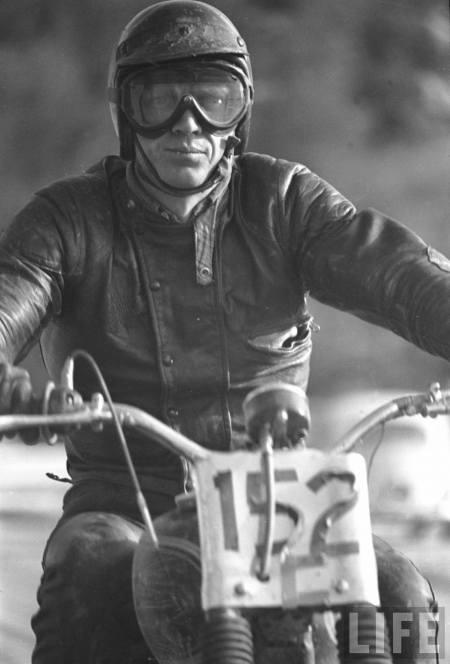 Steve McQueen #biker