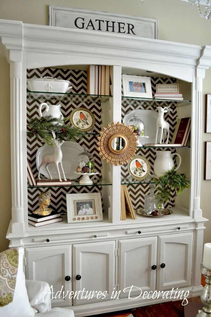 608 best images about Decorating Shelves on Pinterest