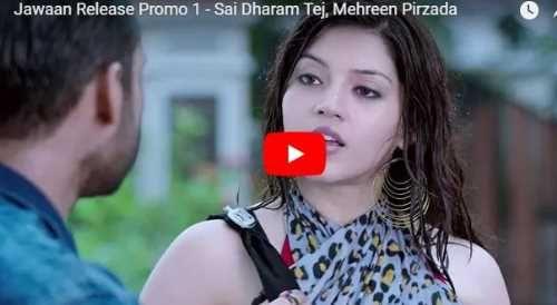 Watch: Jawaan Release Promo 1 - Sai Dharam Tej