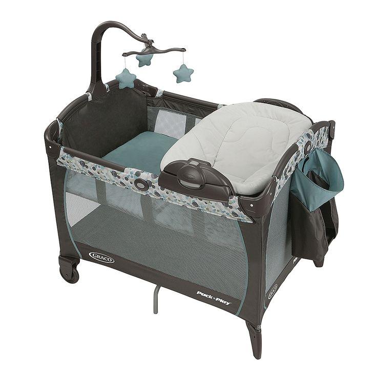 Parc Pack N Play Avec Chaise Longue Portative Et Table A