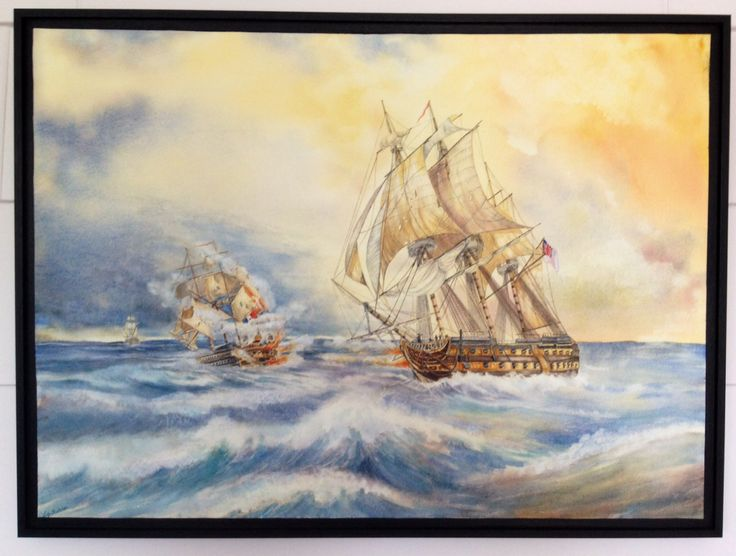 """Watercolour 22"""" x 30"""". This is painted on 640g Fabriano watercolour paper using Art Spectrum and Rembrandt paints. It is mounted onto a wood panel then UV protected then waxed for full protection, all using Golden products. No need for mat board and glass. Love the freedom of choice."""