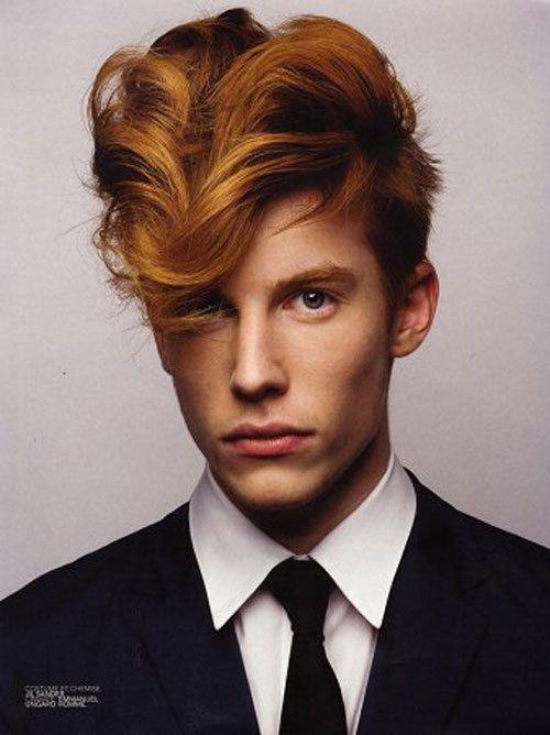 Bastien Bonizec Hair Beauty Cat Red Hair Men Red