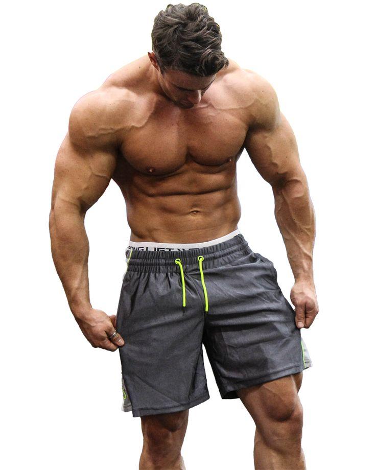@strongliftwear Flyweight Mid shorts - Grey www.strongliftwear.com