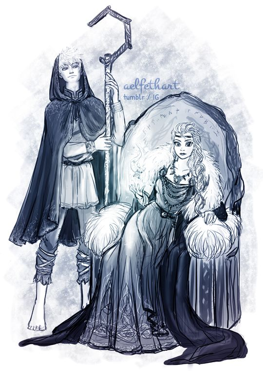 aelfethart: [PREVIEW] Jelsa Week - Day 3: In Another Life    The Queen and the Beggar [Viking AU] It might not seem like much to you, but I've been thinking about a Jelsa Viking Era AU since forever. I reaaally love Vikings (no wonder I'm in Denmark lol), I've read a lot of myths and stories and tonight got super inspired while listening to Wardruna, so there you go! This was also an idea for the Winter Solstice, aka Yule, aka happening now, so I really tried to at least have this ...